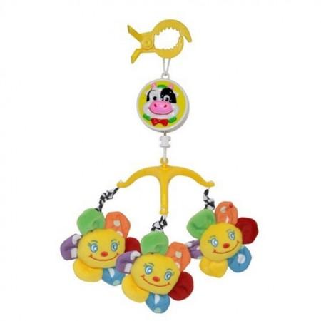 Slika Lorelli Muzička vrteška za kolica Baby Musical Mobile Flower