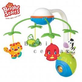 Muzička vrteška za krevetac za decu Safari sku 8352
