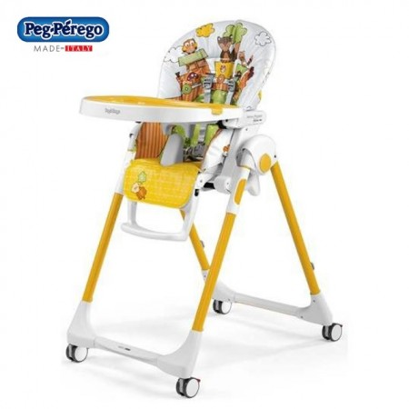 Slika Peg Perego stolica za hranjenje Prima Pappa Follow Me Fox and Friends