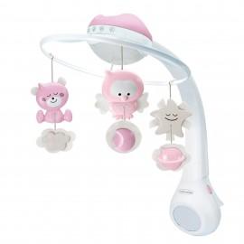 Infantino Muzička vrteška sa zvezdanim projektorom Pink
