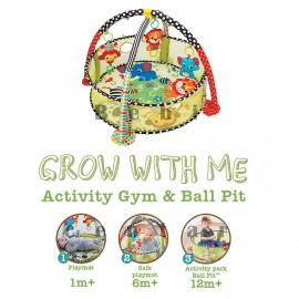 Slika Infantino Podloga za igru Activity Gum & Ball Pint