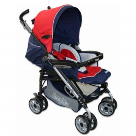 Slika Jungle kišobran kolica za decu Lux Red Blue