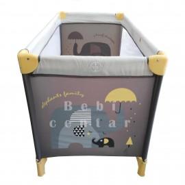 Krevetac za bebe Jungle Moon Yellow Elephant
