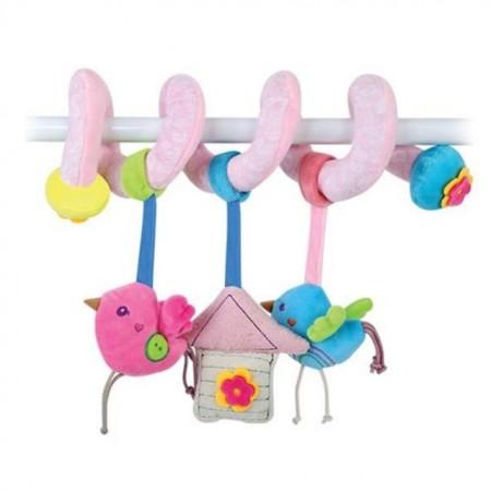 Lorelli Plišana igračka spirala Sweet Home