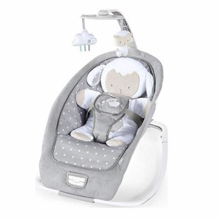 Slika Muzička ležaljka za bebe sa vibracijom Rocking Seat - Cuddle Lamb 12118