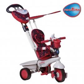 Slika Smart Trike tricikl za decu sa ručkom za guranje Dream Team Red 4 u 1