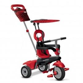 Slika Tricikl za decu sa ručkom za guranje 4 u 1 Smart Trike Vanilla Red