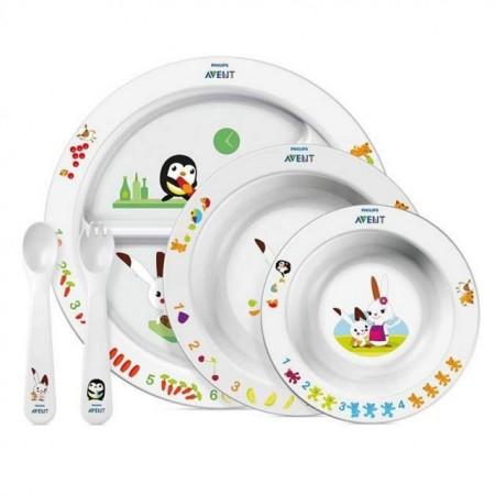 Slika Avent Poklon set za hranjenje 6M+ SCF716/00