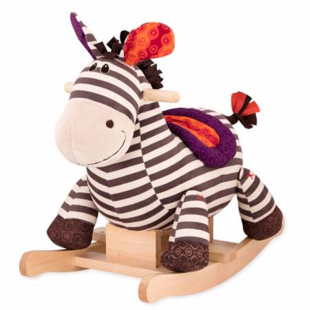 Slika B Toys Plišana klackalica Zebra