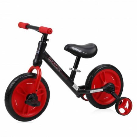 Lorelli Balans Bike ENERGY 2 u 1 Black & Red