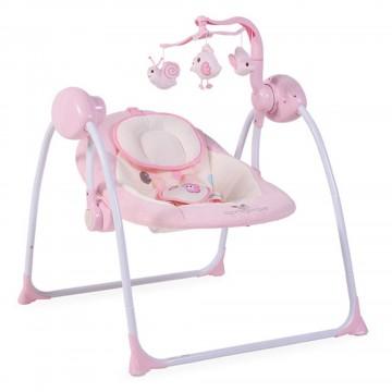 Muzička ležaljka Cangaroo Baby Swing Pink