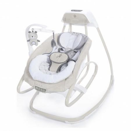 Slika Muzička ležaljka ljuljaška za bebe sa vibracijama Kids II Ingenuity SmartSize Gliding Swing & Rocker - Holden 10639