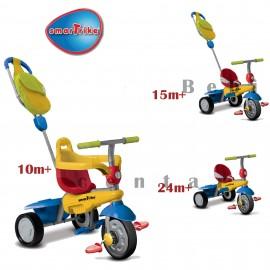 Tricikl za decu sa ručkom za guranje Smart Trike Breeze GL Multicolor