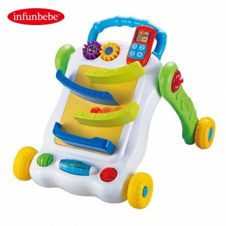 Infunbebe Igračka za bebe guralica 2 u 1