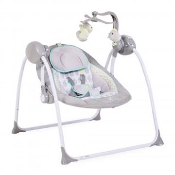 Muzička ležaljka Cangaroo Baby Swing Grey