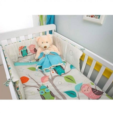 Slika Posteljina set Smart Trike Joy OWL 3 dela