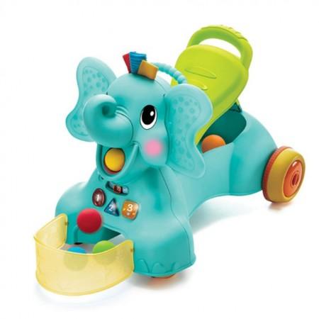 Slika B Kids Igračka za prohodavanje sa zvukom i svetlom Slon