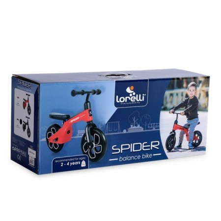 Slika Bicikl Balance Bike Spider Black