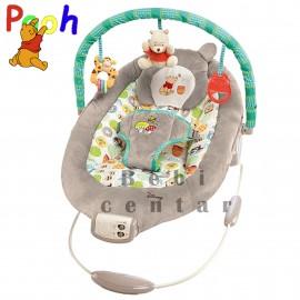 Slika Disney muzička ležaljka za bebe Winnie the Pooh sa vibracijom 60256
