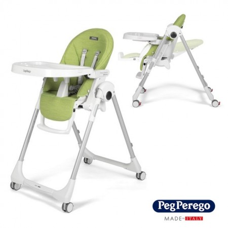 Slika Peg Perego stolica za hranjenje Prima Pappa Follow Me Wonder Green