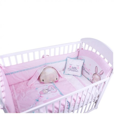 Posteljina My Baby Fashion Bunny Light Pink set 8/1 images
