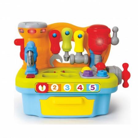Slika Hola Igračka mala muzička radionica sa alatima / blokovima