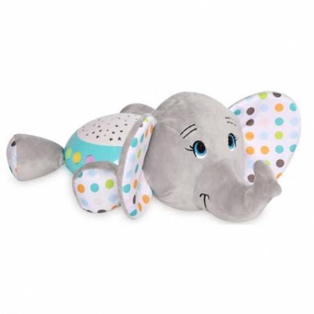 Lorelli Muzička kutija za bebe sa noćnim svetlom Slonce