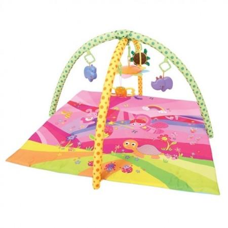 Slika Lorelli Podloga za igru Fairy Tale Pink 89 x 84