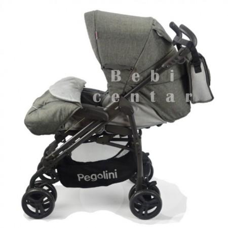 Slika Pegolini kišobran kolica za decu Play Grey