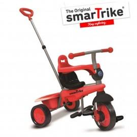 Slika Tricikl za decu sa ručkom za guranje Smart Trike Breeze Red