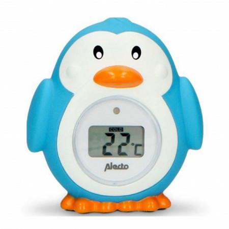 Slika Alecto Termometar za kupanje i sobu Pingvin