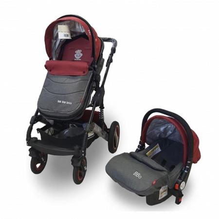 Kolica za bebe GS-T106 BBO MATRIX SET crvena