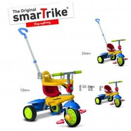 Slika Tricikl za decu sa ručkom za guranje Smart Trike Breeze Multicolor