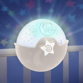 Slika Infantino Muzička noćna lampa sa zvezdanim projektorom za krevetac Beige