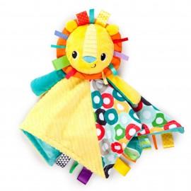 Slika Plišana igračka i ćebence za bebe Kids II Caddle `n Tags Blankie 10213 Sun