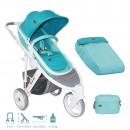 Kolica za decu Lorelli Calibra 3 Aquamarine