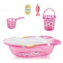 Set za kupanje 6 delova BabyJem Pink