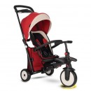 Tricikl Smart Trike Folding 500 Recliner 9M+ Red Melange