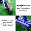 Bicikl Smart Trike  Folding Balance Bike Blue