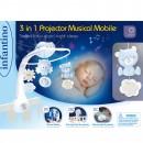 Infantino Muzička vrteška sa zvezdanim projektorom Blue