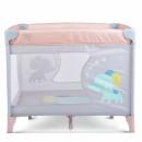 MONI Ogradica za bebe Giant Light Pink Grey