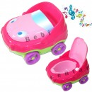 Muzička noša za decu sa adapterom i držačem za papir Auto Pink