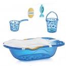 Set za kupanje 6 delova BabyJem Blue