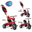 Tricikl za decu sa ručkom za guranje Smart Trike Breeze GL Red