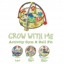 Infantino Podloga za igru Activity Gum & Ball Pint