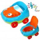Muzička noša za decu sa adapterom i držačem za papir Auto Orange