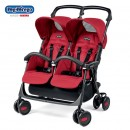 Peg Perego Kolica Aria Shopper Twin Class Geo Red