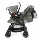 Pegolini kolica za decu Play plus sa auto sedištem Grey