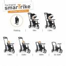 Tricikl Smart Trike Folding 500 9M+ Fox Tots