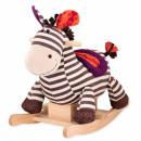 B Toys Plišana klackalica Zebra